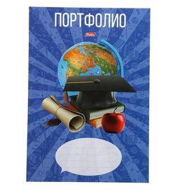 Портфолио для учеников 1-11кл А4 16 листов 'Школьник' в пакете с европодвесом Ош