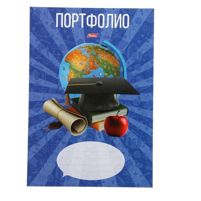 Набор вкладышей для портфолио «Школьник», для учеников 1-11 классов, А4, 16 листов, в пакете с европодвесом