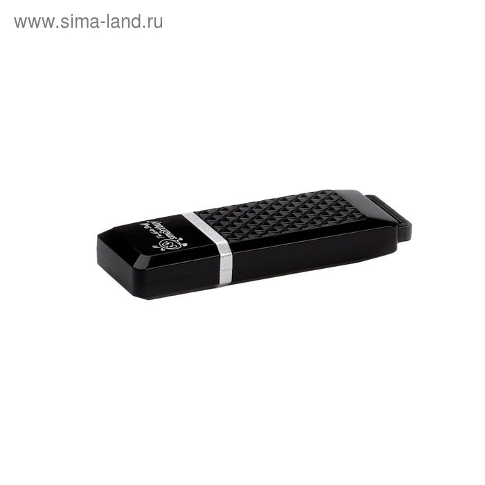 USB-флешка Smartbuy 8Gb Quartz, чёрная
