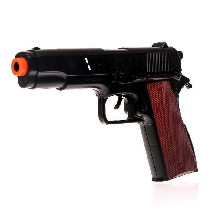 """Пистолет-трещотка """"Полиция"""", с кобурой"""