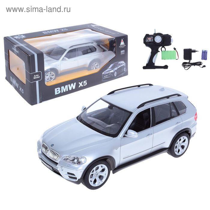 Машина радиоуправляемая BMW X5, с аккумулятором, 1:14, световые эффекты,цвета МИКС