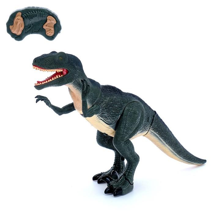 """Динозавр радиоуправляемый """"Велоцираптор"""", световые и звуковые эффекты"""