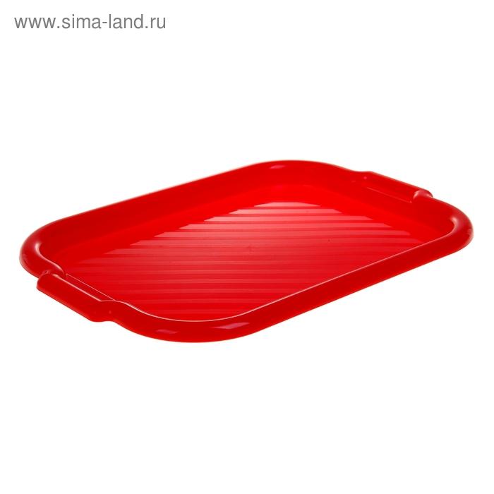 """Поднос """"Универсальный"""", цвет красный"""