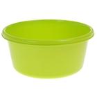 Таз круглый 6 л, цвет салатовый