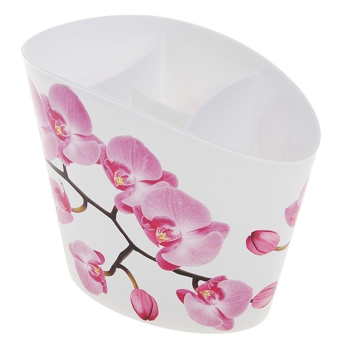 """Сушилка для столовых приборов """"Деко. Орхидея"""""""