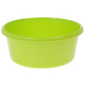 Таз круглый 8 л, цвет салатовый Ош