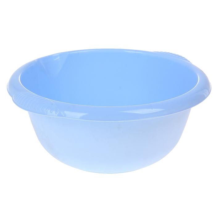 Таз 6,5 л, цвет голубой