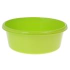 Таз круглый 14 л, цвет салатовый