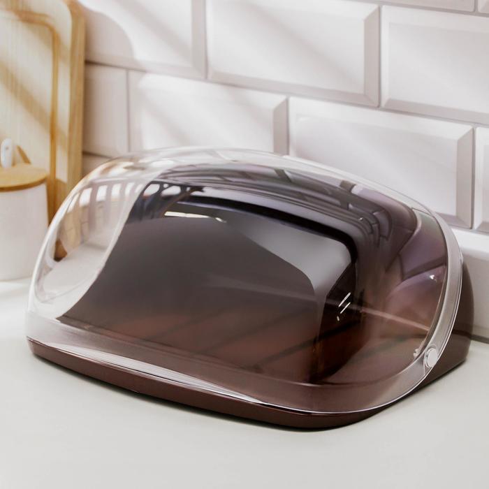 Хлебница IDEA малая, цвет коричневый