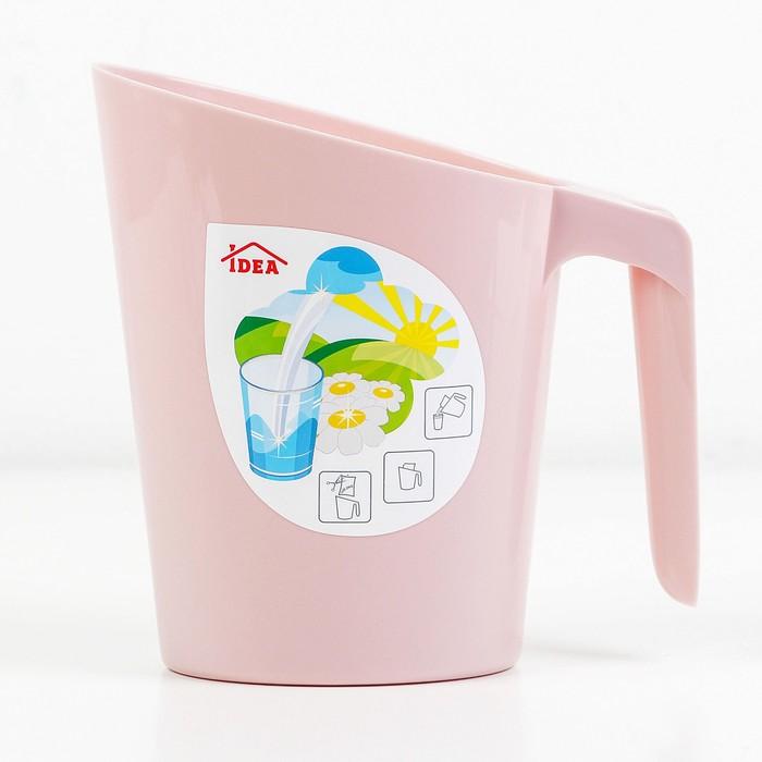 Кувшин-подставка для молочного пакета, цвет МИКС