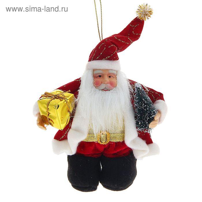 Дед Мороз мини с ёлкой
