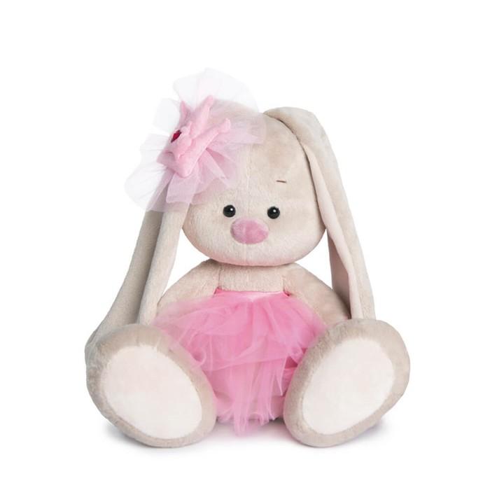 Мягкая игрушка «Зайка Ми-балерина», 18 см - фото 106537859