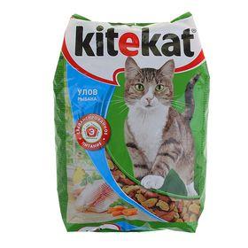 """Сухой корм KiteKat """"Улов рыбака"""" для кошек, 1,9 кг"""
