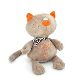 Мягкая игрушка «Кот Батон», цвет серый