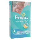 Подгузники Pampers Active Baby-dry, Midi 3 (5-9 кг), 62 шт.