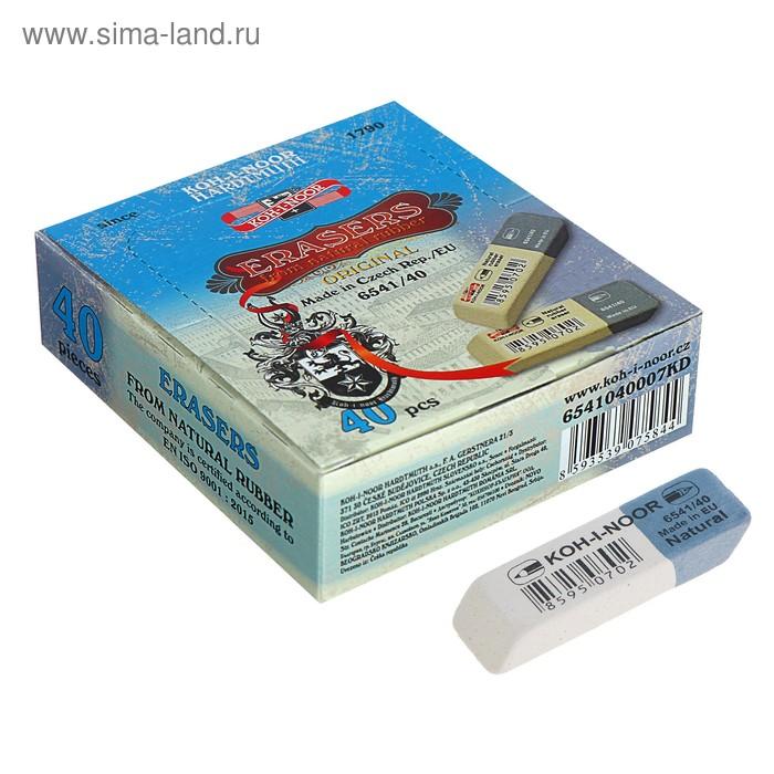 Ластик Sanpearl 40, комбинированный, каучук, 60*20*8мм
