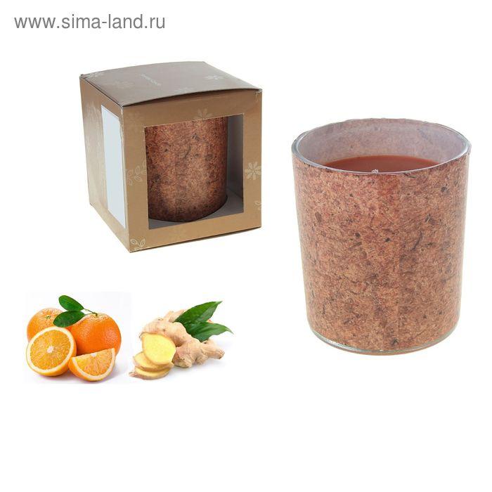 Свеча ECO LUMIERE Цедра апельсина-имбирь, 250 мл