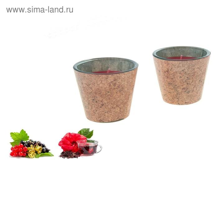Свечи ECO LUMIERE Красный чай-смородина, 2х80 мл