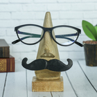 Stand for glasses Mustache