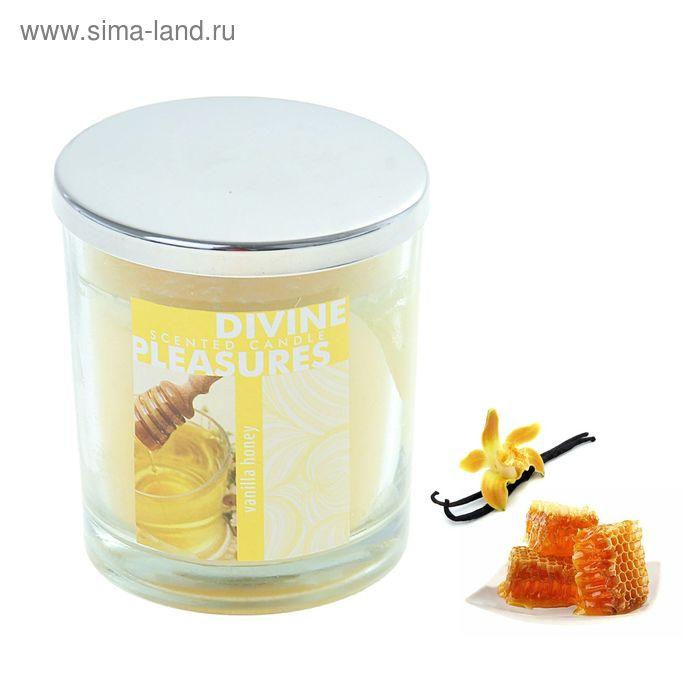 Свеча в банке Ваниль-мёд, 112 мл