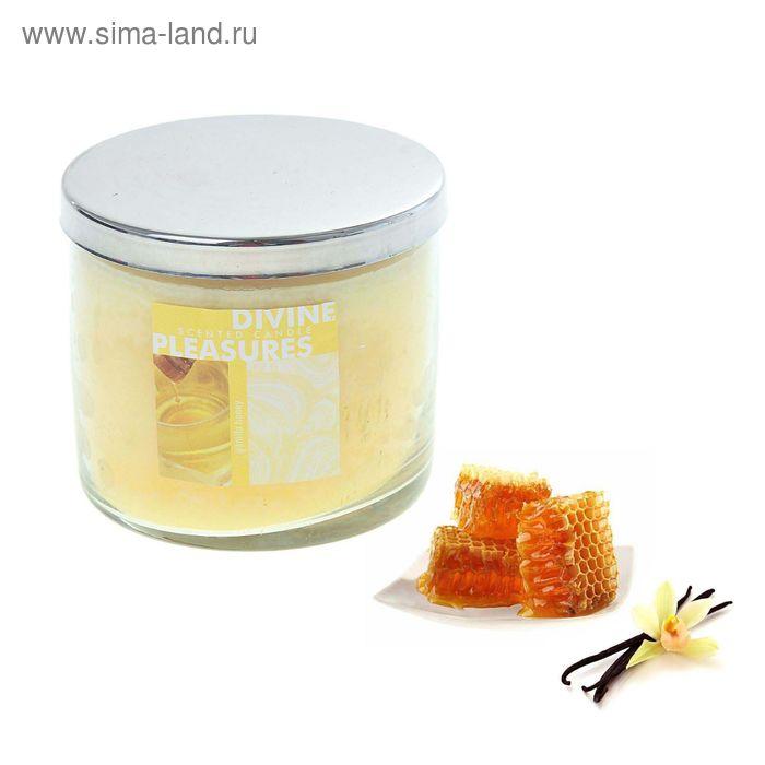 Свеча в банке Ваниль-мёд, 390 мл