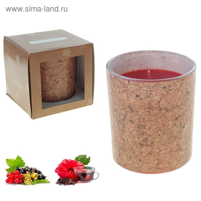 Свеча ECO LUMIERE Красный чай-смородина, 250 мл