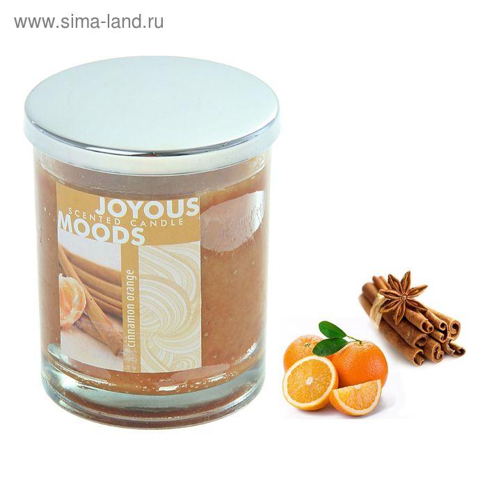 Свеча в банке Корица-апельсин, 196 мл
