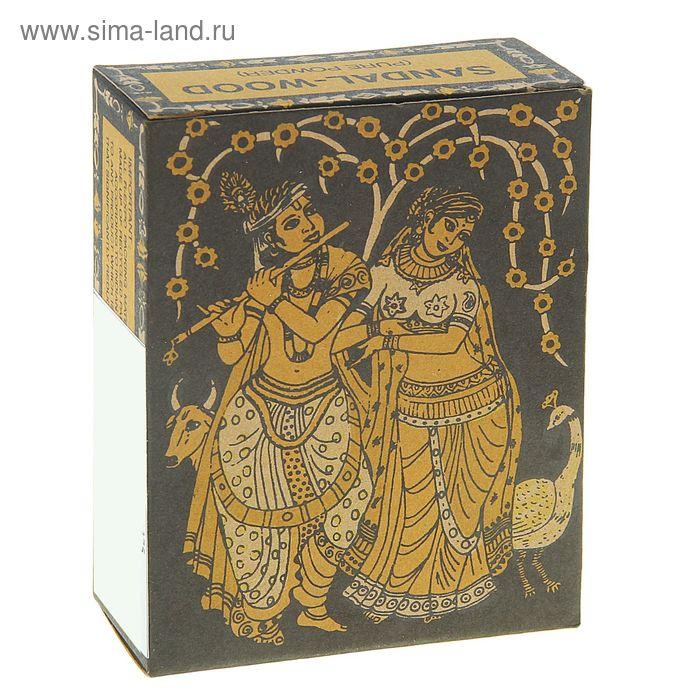 Порошок сандалового дерева Радха Кришна 50 гр