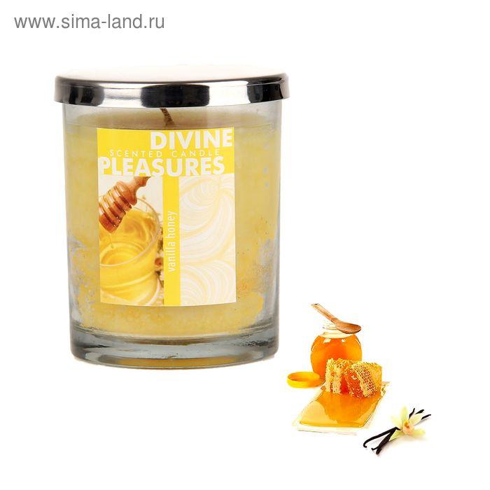 Свеча в банке Ваниль-мёд, 196 мл