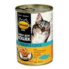 """Влажный корм """"Васька"""" для кошек, нежная рыбка в соусе, ж/б 415 г"""
