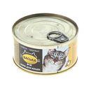 "Влажный корм ""Васька"" для кошек, курица/телятина с морскими водорослями, ж/б 325 г"