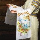 """The towel """"advice and love! Together forever"""", 150х36 cm"""
