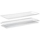 Комплект посудосушителей с поддоном 76,5х25,6 см, для шкафа 80 см, цинк