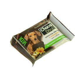 Темный шоколад CHOCO DOG с инулином для собак, 15 гр Ош