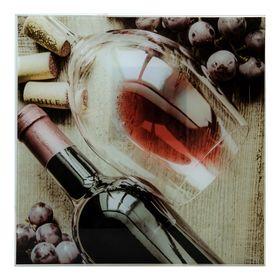 Картина на стекле 'Виноград'   30х30см Ош