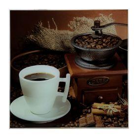 Картина на стекле 'Кофе'  30х30см Ош