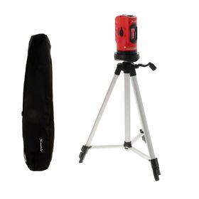 Уровень лазерный Matrix, 100 мм, штатив 1260 мм, самовыравнивающийся
