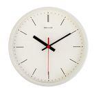 """Часы настенные круглые """"Датский штрих"""", белые"""