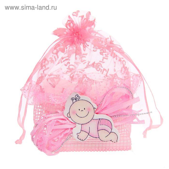 """Бонбоньерка """"Лялька"""", цвет розовый"""