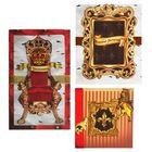 """Набор для создания открыток""""Королевский"""" 29.5 х29.5 см"""
