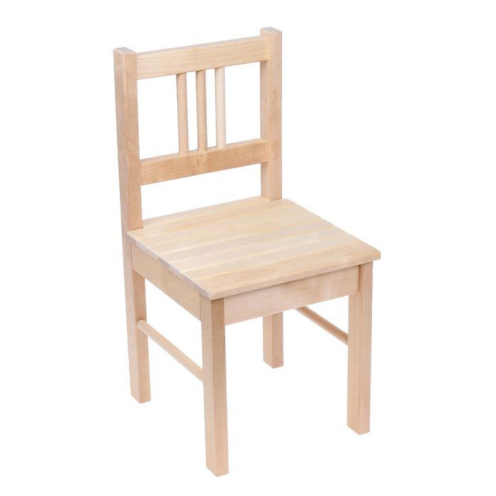 """Детский стульчик """"Колибри"""", высота до сиденья 29 см, цвет натуральный"""