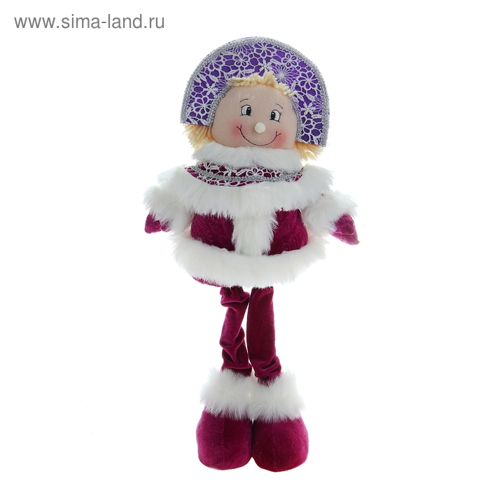 """Мягкая игрушка """"Снегурочка-фиолетик"""""""
