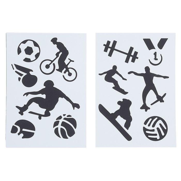 Спорт картинки на бумаге