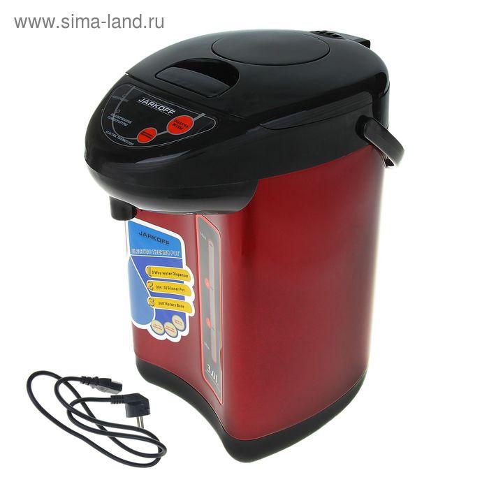 Термопот Jarkoff JK-430R, 3 л, 750 Вт, красный