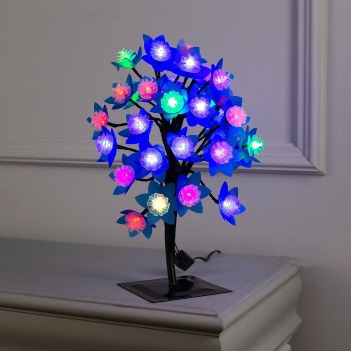 """Светодиодный куст улич. 0,3 м, """"Шишки 3D"""", 32 LED, 220V, моргает RG/RB"""
