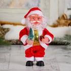 Дед Мороз, с ёлкой и подарками, английская мелодия