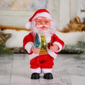 """Дед Мороз """"С ёлкой и подарками"""" 16 см, микс"""