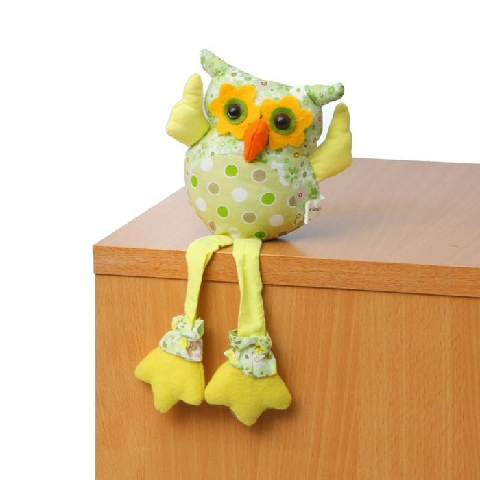 """Мягкая игрушка """"Совушка"""", желтые крылья"""