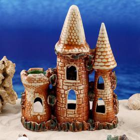 "Декорации для аквариума ""Замок"" - фото 7392553"