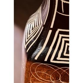"""Ваза напольная """"Лира"""", абстракции, 70 см, микс - фото 1703328"""
